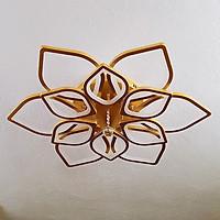Đèn trần OKAIRI 12 cánh hoa hiện đại - 3 chế độ ánh sáng
