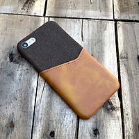 Ốp lưng da vải kiêm ví dành cho iPhone 7 / iPhone 8
