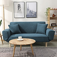 Ghế sofa phòng khách  - Ghế salon vải cho phòng khách sang trọng - Màu sắc ngẫu nhiên
