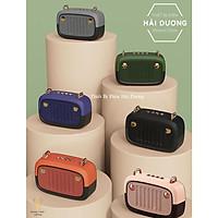 Loa Bluetooth Di Động BS-32D Tích Hợp Đài FM - Hỗ Trợ Khe Cắm Thẻ Nhớ - USB - Dung Lượng Pin Lớn - Nhiều Màu Sắc