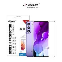 Miếng Dán Cường Lực ZEELOT UV LOCA Trong cho Samsung S21 Ultra/ S21 Plus_ Hàng Nhập Khẩu