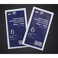 SIZE 6 (8x17cm) - Túi phơi nilon đựng tiền giấy , tem , tiện dụng cho nhà sưu tập, Túi 100 miếng phơi - KÍCH THƯỚC THƯỜNG DÙNG - The Merrick Mint