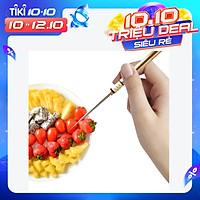 Bộ tăm hợp kim đồng thau thích hợp dùng để ăn trái cây kiểu dáng sang trọng Brass Titanium Alloy Toothpick