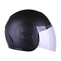 Mũ Bảo Hiểm 3/4 Agu M01 Kèm Kính Trong Chắn Gió Free Size (56-58cm)