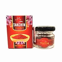 Nhụy hoa nghệ tây Takchin Saffron - hũ thủy tinh đỏ 1g