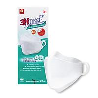 Khẩu Trang Kháng Khuẩn Cao Cấp 4D 3Hmask ôm khít mặt, không đau tai, không lem son