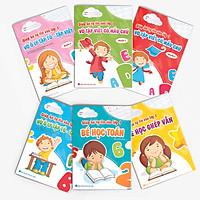 Combo (Bộ 6 cuốn): Cùng bé tự tin vào lớp 1