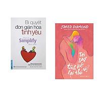 Combo 2 cuốn sách: Bí Quyết Đơn Giản Hóa Tình Yêu + Tại Sao Tình Dục Lại Thú Vị?  (Bìa Hồng)