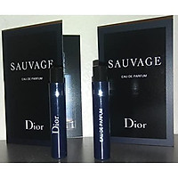 Nước hoa mẫu thử 2 lọ Dior Sauvage Eau De Parfum 2018 Sample Vials For Men 0.03 oz EDP