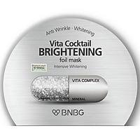 Mặt nạ dưỡng sáng da và làm mờ vết thâm BNBG Vita Cocktail Brightening Foil Mask - Intensive Brightening 30ml