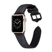 Dây da thay thế cho Apple Watch Hybrid chống ẩm thời trang 2020