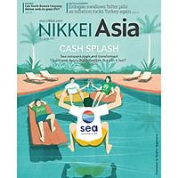 Nikkei Asian Review: Nikkei Asia - 2021: CASH SPLASH - 12.21 tạp chí kinh tế nước ngoài, nhập khẩu từ Singapore