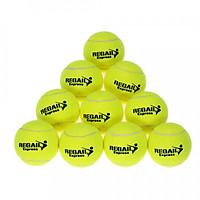 Banh Tập Luyện Tennis Độ Bền Cao Cho Người Mới Bắt Đầu (10 Trái)