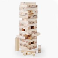 Bộ đồ chơi rút gỗ số 54 thanh