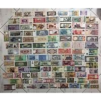 Bộ tiền cổ 100 tờ 100 nước khác nhau trên thế giới