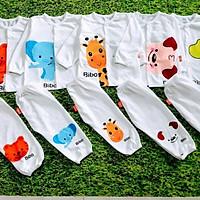 Quần áo trẻ em (combo 5bộ quần áo sơ sinh quần áo trẻ sơ sinh như hình)