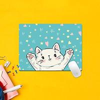 Miếng Lót Chuột Hình Animail Đáng Yêu Chữ Nhật ( 20 x 26 cm )