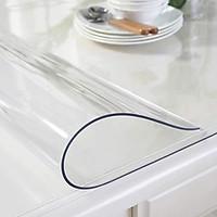 Tấm nhựa trải bàn trong suốt chống thấm nước loại dày