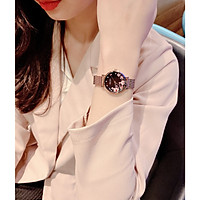 Đồng hồ hàn quốc Julius nữ JA-1164LG Hoa - Limited
