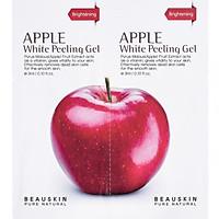 Combo 2 gói tẩy da chết chiết xuất táo đỏ Beauskin Hàn quốc ( 3ml/ gói)