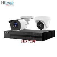 Trọn bộ 2 camera 1.0MP HILOOK HD 720P - Hàng chính hãng