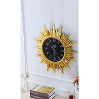 Đồng hồ treo tường trang trí hoa mặt trời cỡ lớn (KT 64x64cm)