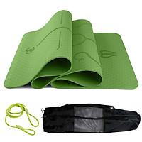 Thảm Tập Yoga Định Tuyến miDoctor + Túi Đựng Thảm Tập Yoga Định Tuyến + Dây Buộc Thảm Tập Yoga Định Tuyến