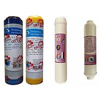 Bộ 4 lõi lọc 1-2-4-5 nano geyser