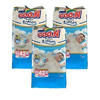 Combo 3 bịch Tã dán Goo.n Premium NB42 miếng (newborn-5kg)