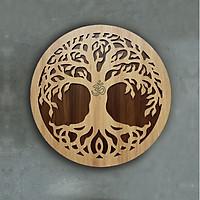 Trang Trí Nhà - Decor Điêu Khắc Gỗ Tree Life - Cây Đời