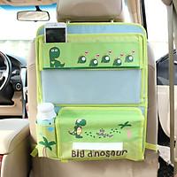 Túi treo đồ có khay bàn ăn xếp gọn móc sau ghế ô tô, xe hơi kiểu mẫu hoạt hình dễ thương cho trẻ em- Hàng chính hãng