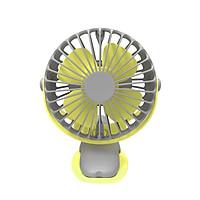 Quạt Tích Điện Kẹp Sạc Mini Cầm Tay 4 Cấp Độ Gió 360 Độ Siêu Bền LATIPI