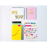 Combo ALL 2021 (Sổ lập kế hoạch My Day - My Year - My Notes Planner by Dr Pepper)