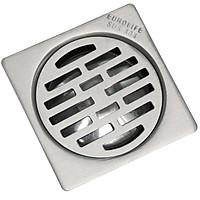 Hố ga Inox SUS 304, 15X15cm Eurolife EL-X36 (Trắng bạc)