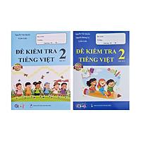 Combo Sách - Đề kiểm tra Tiếng Việt 2 học kì I + II