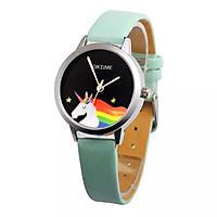Đồng hồ đeo tay cho bé gái hình ngựa 1 sừng dây da sành điệu – DH010