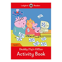 Peppa Pig: Daddy Pig's Office Activity Book - Ladybird Readers Level 2 (Paperback)
