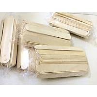 Que kem gỗ làm đồ handmade - que đè lưỡi 500g (Trang Trí Nhà Cửa)