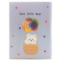 Bộ 2 Sổ Note 64902 - Cute Little Bear - Màu Tím