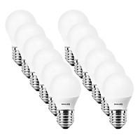 Bộ 12 Bóng Đèn Philips LED Essential 3W 6500K E27 P45 - Ánh Sáng Trắng - Hàng Chính Hãng