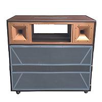 Vỏ thùng loa tủ loa kéo karaoke T -  4500 HẢI TRIỀU  (Hàng chính hãng)