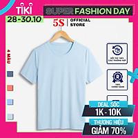 Áo Thun Nam Cổ Tròn 5S Premium (4 màu), Vải Thun Cao Cấp Thoáng Mát, Phom Ôm Trẻ Trung (TSO21003)