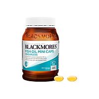Dầu Cá Blackmores Fish Oil Odourless Mini Caps - 400 viên (Hàng Nhập Khẩu Từ Úc)(Random new and old versions)