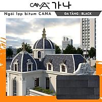 Ngói lợp bitum phủ đá CANA (1 gói 2.54 m2)- Biên Dạng Đa Tầng