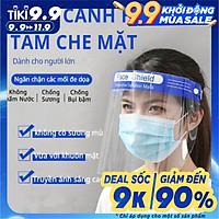 (Combo 10 cái) Tấm kính che mặt Face Shield chống giọt bắn shellbảo hộ phòng dịch covid