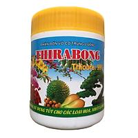 Phân bón lá THIRABONG kích mầm hoa - ra nhiều hoa trái vụ chuyên cho hoa cảnh - hoa Hồng - cây ăn trái hũ 100g