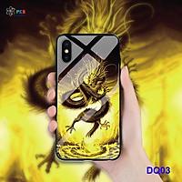 Ốp lưng cho iphone XsMax bóng cứng viên dẻo không ố vàng - Hàng nhập khẩu