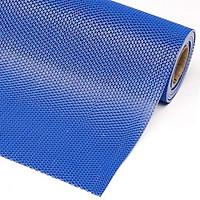 Thảm nhựa lưới chống trơn màu xanh dương khổ 90cm