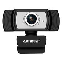 Webcam Máy Tính Aoni C33 - Livestream Siêu Nét, Học Online, Lấy Nét Chủ Động, Góc 80* - Hàng Chính Hãng