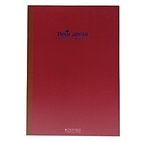 Sổ Oxford Petit Amour GNB B5 40'S-AGN01311A - Mẫu 2 - Màu Đỏ